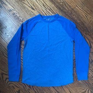 boys royal blue Cat & Jack shirt. Size 16